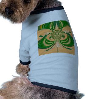 Yellow Green Design. Dog Tee