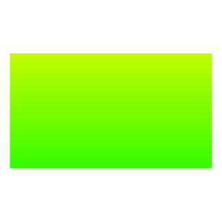 Yellow Green Gradient Pack Of Standard Business Cards