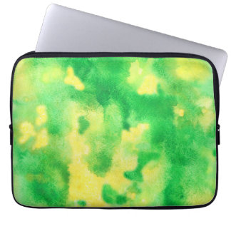 Yellow Green Laptop Sleeve 13''