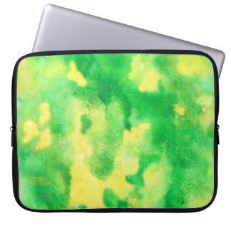 Yellow Green Laptop Sleeve 15''