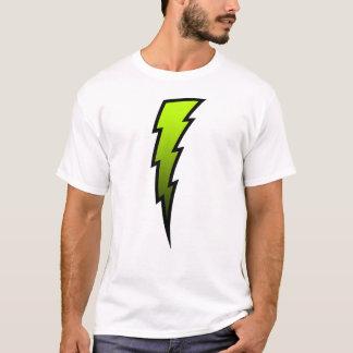 Yellow-Green Lightning Bolt T-Shirt