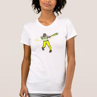yellow green player t-shirts