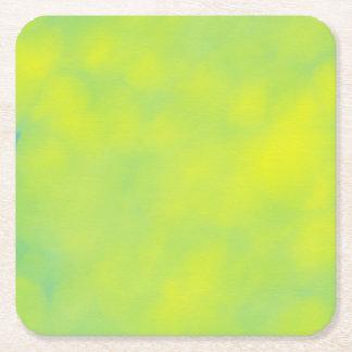 Yellow Green Shades Coaster