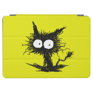 Yellow Green Unkempt Kitten GabiGabi iPad Pro Cover
