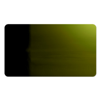 Yellow-Green Unusual Visual Identifiers Biz Card Pack Of Standard Business Cards