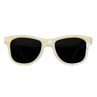 Yellow Grey Grunge, Washed Out, Cool Sunglasses
