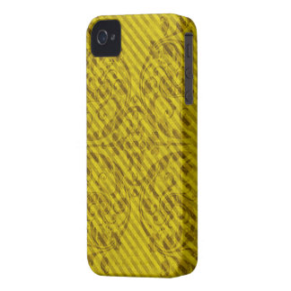 Yellow Grunge Floral iPhone4 Case iPhone 4 Covers
