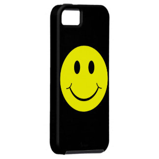 Yellow Happy Smiley Face iPhone 5 Case
