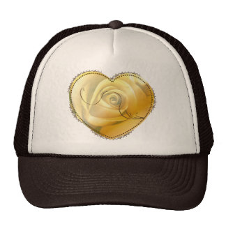 Yellow Heart - hat