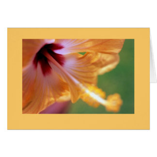 """Yellow Hibiscus"" Card"