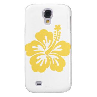 yellow hibiscus flower 11 samsung galaxy s4 case