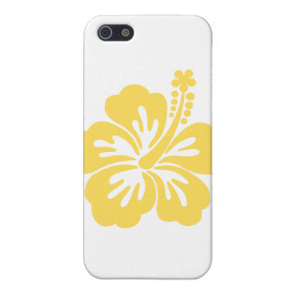 yellow hibiscus flower 11 covers for iPhone 5