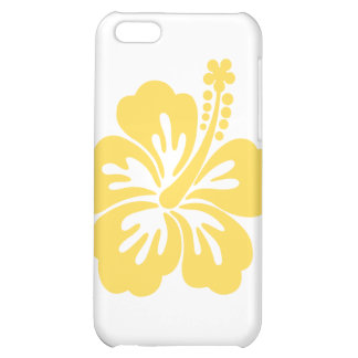 yellow hibiscus flower 11 iPhone 5C cover