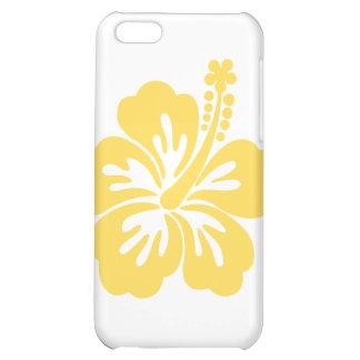 yellow hibiscus flower 11 iPhone 5C cover