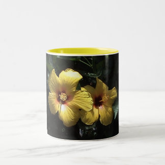 Yellow Hibiscus Mug