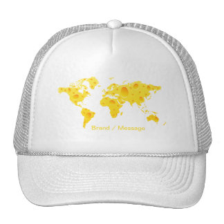 Yellow Holes Cheese Hat