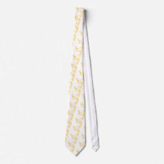 Yellow Hornet Logo Tie