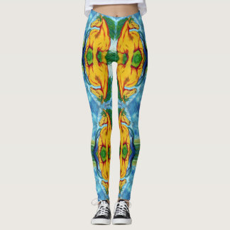 Yellow Horse Leggings
