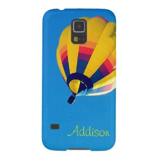 Yellow Hot Air Balloon Galaxy S5 Cases