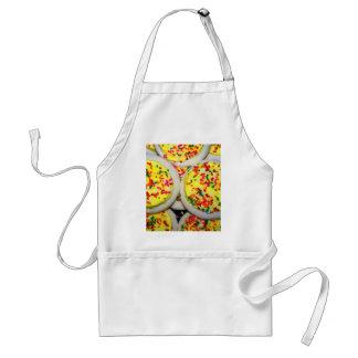 Yellow Iced Sugar Cookies w Sprinkles Aprons