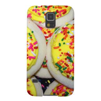 Yellow Iced Sugar Cookies w Sprinkles Samsung Galaxy Nexus Cover