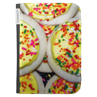 Yellow Iced Sugar Cookies w Sprinkles Kindle 3 Cases
