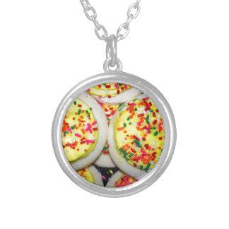 Yellow Iced Sugar Cookies w Sprinkles Jewelry
