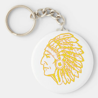 Yellow Indian copy Key Ring
