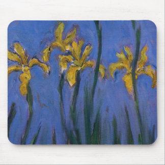 Yellow Irises Mouse Pad