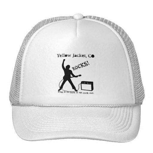 Yellow Jacket, CO Mesh Hats