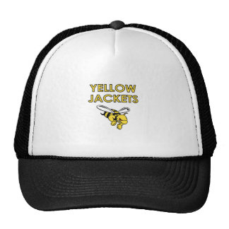 YELLOW JACKETS FULL CHEST TRUCKER HAT