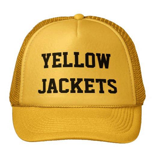 Yellow Jackets Mesh Hats