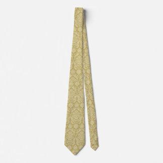 Yellow Jacquard Tie