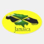 Yellow Jamaica Sticker