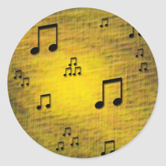Yellow Jazz Stickers