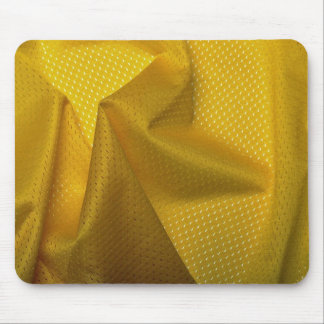 Yellow jersey material mousepad