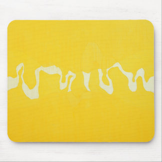 Yellow journey mouse mat