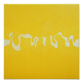 Yellow journey poster