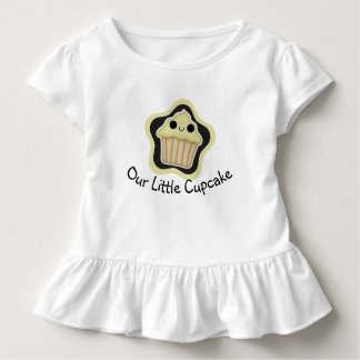 Yellow Kawaii Cupcake Toddler Shirt
