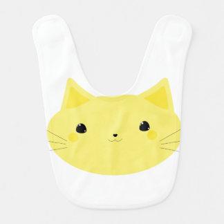 Yellow Kitty Bib