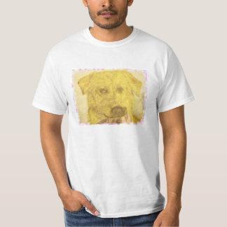 yellow lab art shirts