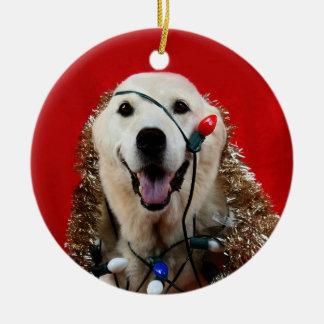 Yellow lab Christmas Christmas Ornament