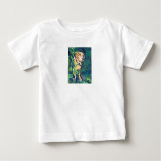 Yellow Lab Creek Painting T-Shirt for Kids