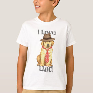 Yellow Lab Dad Tees