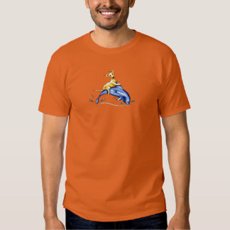 Yellow Lab Dolphin Ride Tee Shirt