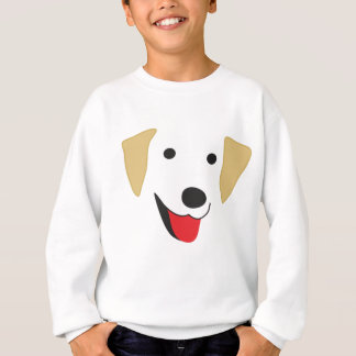 Yellow Lab Face Sweatshirt
