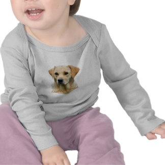 Yellow Lab Fathful Friend for Apparel T Shirt