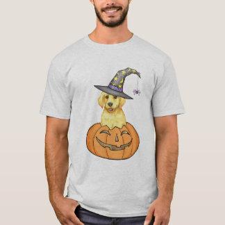 Yellow Lab Halloween T-Shirt