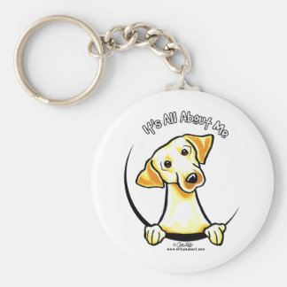 Yellow Lab Its All About Me Keychains