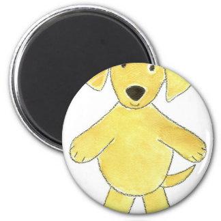 Yellow Lab Fridge Magnets